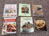 6 cook books