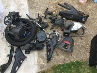 Yamaha mt125 parts spares