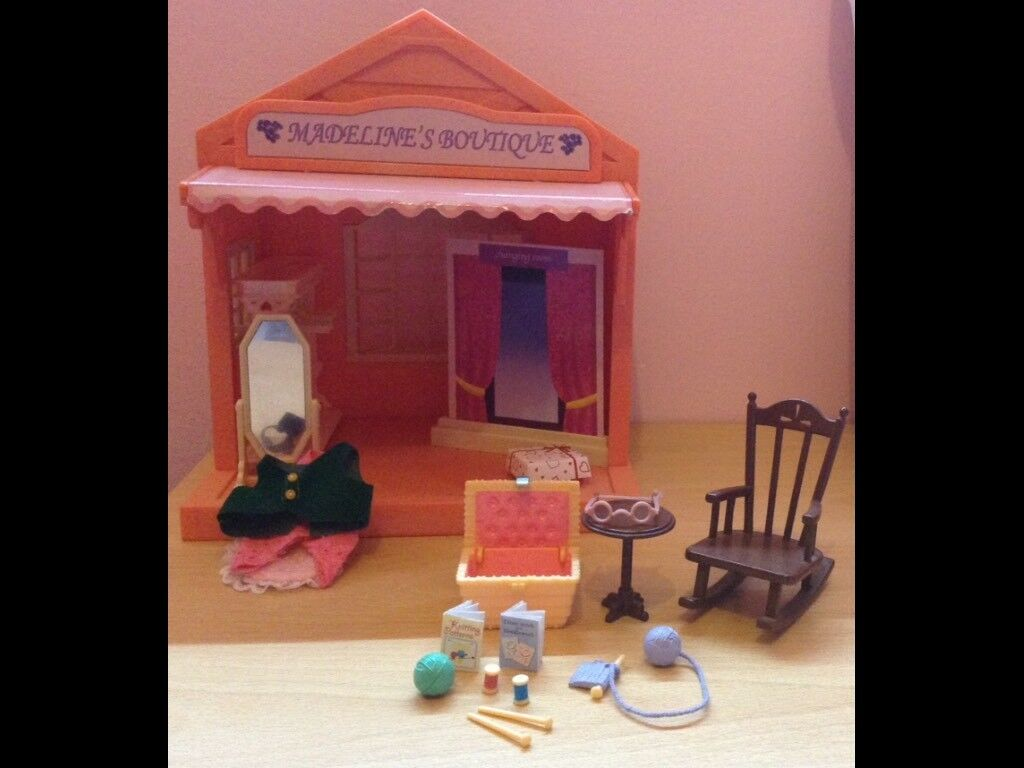 Sylvanian families Madelines boutique and Grandma at home bundle.