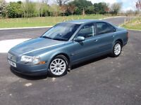VOLVO S80 2.4 AUTOMATIC Pure Luxury M.O.T. £550