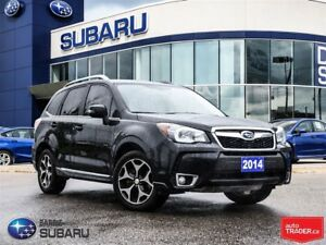 2014 Subaru Forester 2.0XT turbo,leather,nav,roof