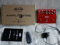 ATOMIC AMPLIFIRE with Box, PSU, Manual and presets