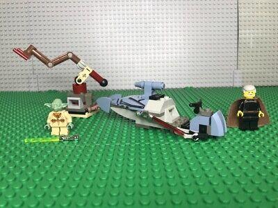 Lego 7103 Jedi Duel Great + 100% piece count & MFs  NO Manual NO Box Rare Colors