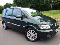 VAUXHALL ZAFIRA 2.0 DTi ELEGANCE••7 SEATER••12 MONTHS MOT••2 FORMER KEEPERS••S/HISTORY...galaxy