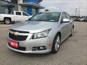 2014 Chevrolet Cruze Leather Heated Seats + Sunroof + RS