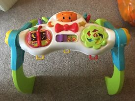 Activity table for baby/ toddler