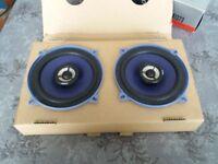 """5"""" (13cm) 2-way Sony speakers"""