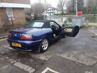 MG MGF 1.8 Convertible 75th Anniversary Limited edition -EXCEPTIONAL EXAMPLE -Bargain