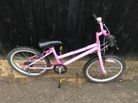 Girls Bike. Good condition. Serviced. Free Lock, Lights & Delivery.