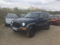 4x4 CHEROKEE JEEP IN VERY CLEAN CONDITION NEW ALLOYS TYRES LOVELY DRIVER CD CLOTH TRIM ANYTRIAL WELC