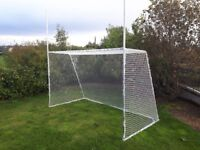 GAA Goals 12' Wide x 7' High Galvanised Steel ( Goal Goalposts Football )
