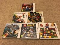 6 Nintendo 3DS Games