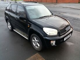toyota rav 4 2.0 petrol vx leather model gas converted