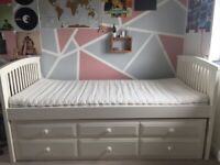 Reserved- Single bed with pull out guest bed and storage