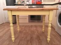 Small pine dining table - £10
