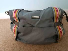 Storksak Tania bee grey change bag