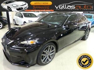 2015 Lexus IS 250 F-SPORT| NAVI| SUNROOF| AWD