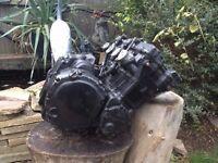 GSXR 750 Slabside engine