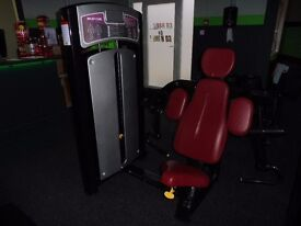GYM PIN LOADED BICEP MACHINE 100KG TECHNOGYM STYLE / 3 MONTHS OLD
