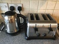 Set of Russel Hobbs Kettle and Toaster
