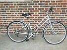 RALEIGHT ESCAPE  LADIES HYBRID BIKE 16 INCHES FRAME/ 6 GEARS/ 700cc WHEELS FULLY WORKING