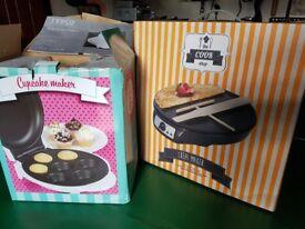 Cupcake and crepe makers - unused