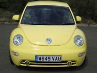 VOLKSWAGEN BEETLE 2.0 PETROL MANUAL COME WITH ONE YEAR MOT