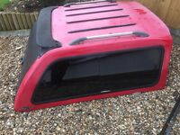 Carryboy 560 Tinted Windowed Hardtop Canopy With Sliding Bulkhead Window. Fits Mitsubishi L200.