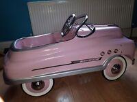 Pink Sadam Pedal Car