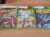 Borderlands XBOX 360 Collection & The Pre Sequel