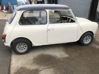 MINI 1000 UNDER GONE 2 YEARS RESTORATION