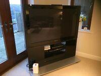 Panasonic 1080p HD Plasma TV and stand