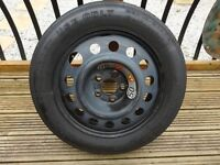 space saver spare wheel for s type jaguar 2001