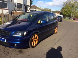 Vauxhall Zafira sri 2.0 turbo z20let swap px vxr gsi