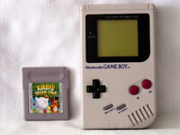 Nintendo Gameboy Original With Kirby's Dream Land Game USED