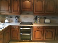 FRENCH SOLID OAK KITCHEN