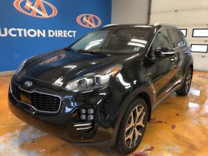 2017 Kia Sportage SX Turbo 2.0T/ VISTA ROOF/ VOICE NAVI/ HEAT...