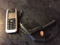 Nokia phone with car charger with £3.14 credit left