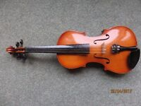 Berkeley violin. Full size.