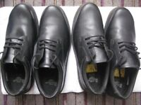 Two Pairs of Brand New Size 13 Black Dr Martens Industrial Shoes - £15.00 each pair