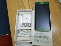 Samsung Galaxy S6 EDGE- 32GB - GREEN (Unlocked) Smartphone