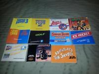 For sale. video games instructions booklets.