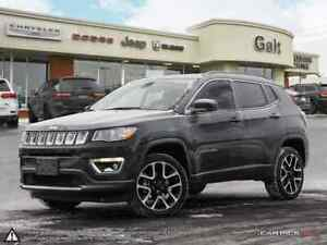2018 Jeep Compass LIMITED 4X4 | SUNROOF LEATHER NAV PARK ASSIST