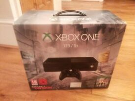 Xbox One 1TB and game (The Divide)