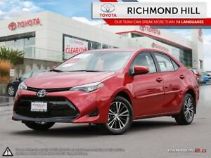 2019 Toyota Corolla LE Upgrade Package  - $77.64 /Wk