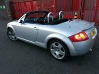 Audi TT quattro, roadster (£1650) 180 BHP and hard top (£450)