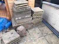 Various slabs
