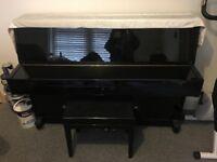 Steinbach 108 black gloss piano