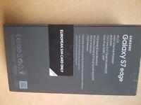 Samsung Galaxy S7 Edge Black Oynx Brand new Sealed