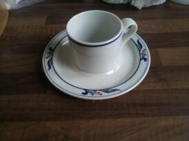 Dansk Bistro coffee cups